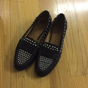 Zara Shoes - Zara studded loafers
